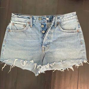 GRLFRND Jean shorts size 25